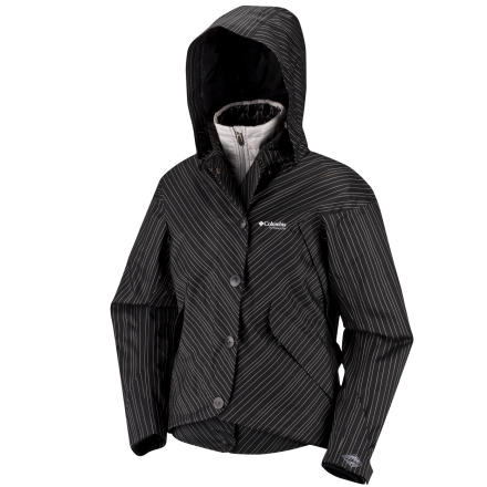 photo: Columbia Harlow Parka component (3-in-1) jacket