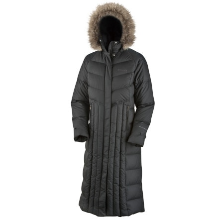 Columbia Luxey Bliss Long Down Jacket - Women's