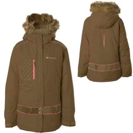 photo: Columbia Kids' Snow Beauty Jacket synthetic insulated jacket