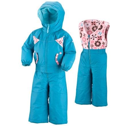 photo: Columbia Arctic Andrea Reversible Set kids' snowsuit/bunting