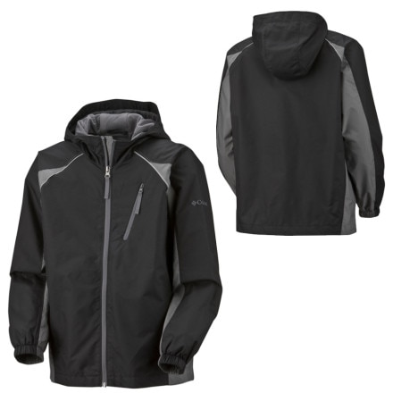 photo: Columbia Kids' Boulder Flow Jacket waterproof jacket