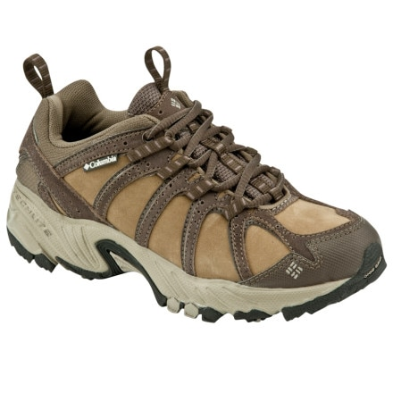 photo: Columbia Women's Kaibab Leather trail running shoe