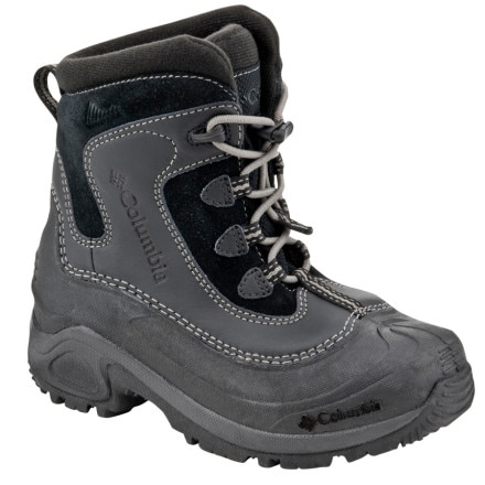 photo: Columbia Boys' Bugaboot Omni-Heat winter boot