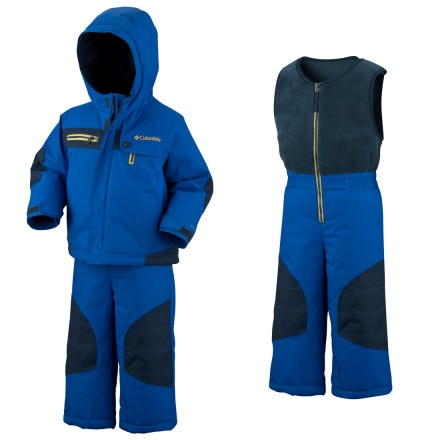 photo: Columbia General Dobby Set kids' snowsuit/bunting