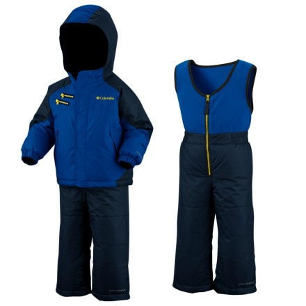 photo: Columbia Rugged Reversible Set kids' snowsuit/bunting