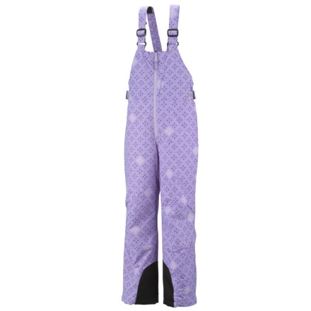 photo: Columbia Girls' Victory Peak Bib snowsport pant