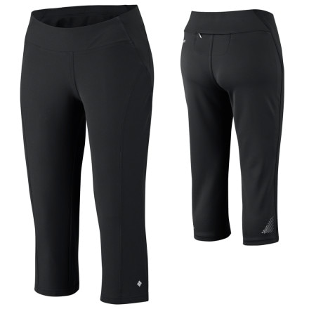 photo: Columbia Trail Twist Knee Pant performance pant/tight