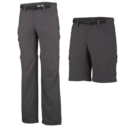 photo: Columbia Men's Silver Ridge II Convertible Pant hiking pant
