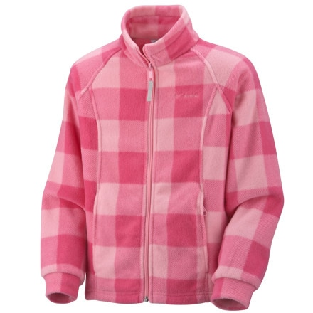 Columbia Benton Springs Printed Fleece Jacket - Little Girls'