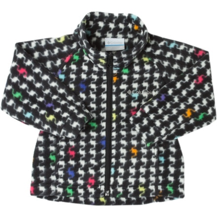 photo: Columbia Girls' Benton Springs Printed Fleece