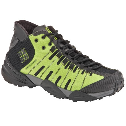 photo: Columbia Men's Master of Faster Mid Omni-Tech trail shoe