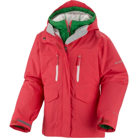 photo: Columbia Chic To Peak Parka snowsport jacket