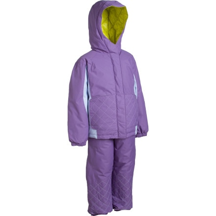 photo: Columbia Jane Frosty Set Snow Suit - Toddler kids' snowsuit/bunting