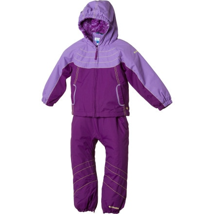 photo: Columbia Twinkle Zip Set kids' snowsuit/bunting