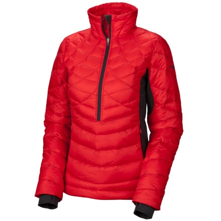 photo: Columbia Reach the Peak Down Pullover down insulated jacket