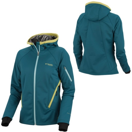 photo: Columbia Women's Key Three Softshell Jacket soft shell jacket
