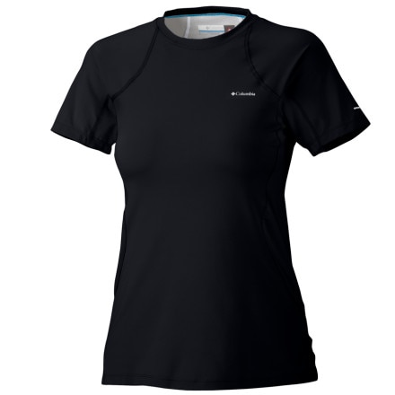 photo: Columbia Women's Baselayer Midweight Short Sleeve Top base layer top
