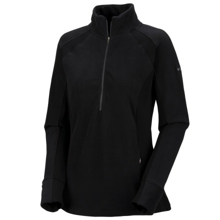 photo: Columbia New Just Right 1/2 Zip Fleece fleece top