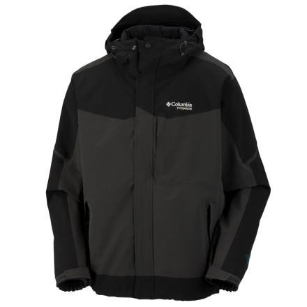 photo: Columbia Assimilate Jacket soft shell jacket