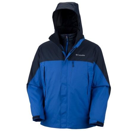 photo: Columbia Lhotse Mountain Parka component (3-in-1) jacket