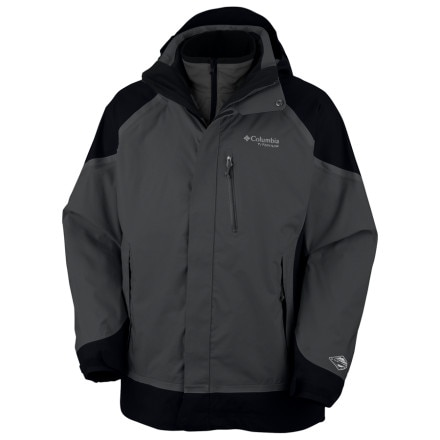 photo: Columbia Men's Bugaboo Tech Parka snowsport jacket