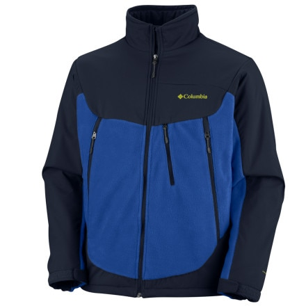 photo: Columbia Men's Heat Elite II Jacket fleece jacket