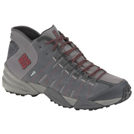 photo: Columbia Men's Master of Faster Mid Outdry LTR hiking boot