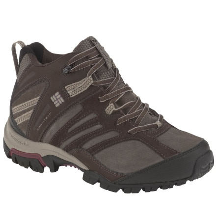 photo: Columbia Men's Shasta Ridge Mid Omni-Tech hiking boot