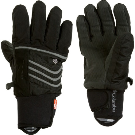 photo: Columbia Gathering Storm Short Gloves