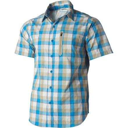 photo: Columbia Rappel Kick Plaid Shirt hiking shirt