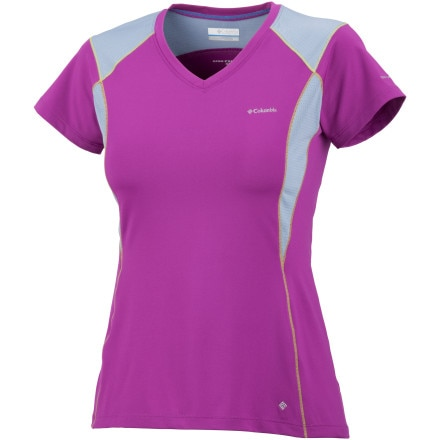 Columbia Insight Ice Short Sleeve V-Neck Top
