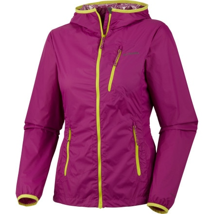 photo: Columbia Women's Trail Fire Windbreaker Jacket wind shirt