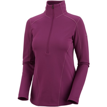 photo: Columbia i2o Half Zip long sleeve performance top