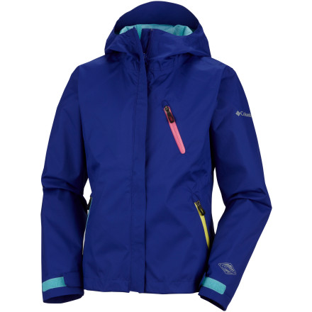 photo: Columbia Girls' TechniKolor Jacket waterproof jacket