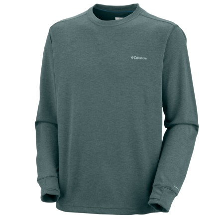 photo: Columbia Ultra Stop Long Sleeve Crew Shirt long sleeve performance top