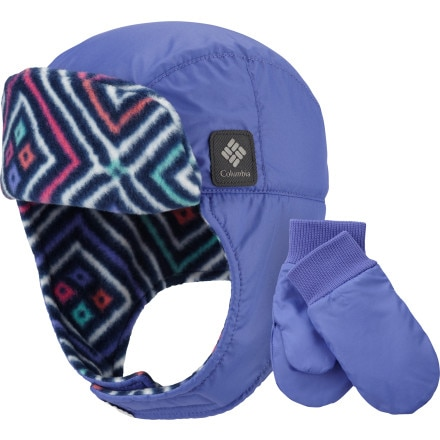 Columbia Earflap/Mitten Set - Toddlers'