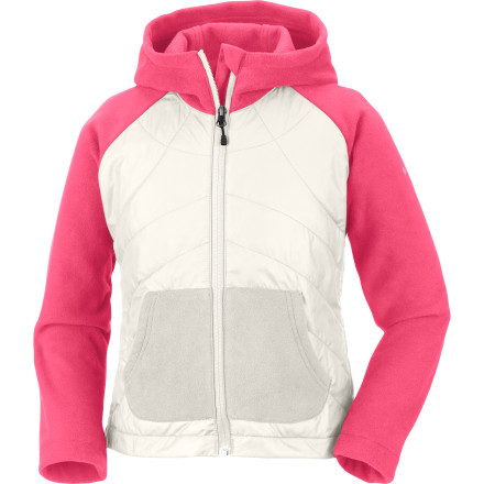 Columbia Fast Trek Hybrid Hooded Jacket - Girls'