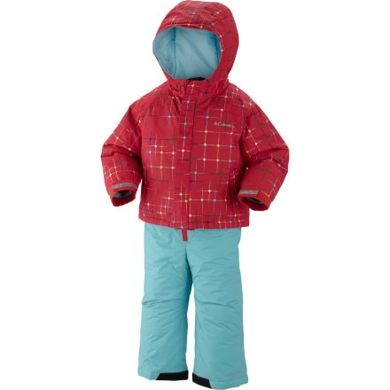 Columbia Snow Slope Snow Suit Set - Toddler Girls'