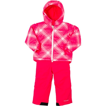 Columbia Snow Slush Reversible Snow Suit Set - Toddler Girls'