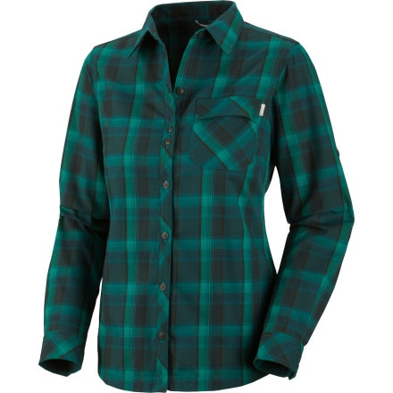 Columbia Saturday Trail Plaid Button-Down Shirt - Long-Sleeve - Women's