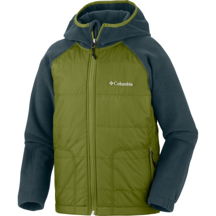 photo: Columbia Fast Trek Hybrid Down Jacket down insulated jacket