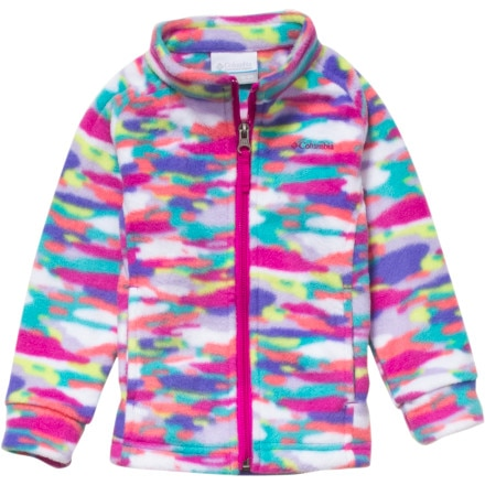 Columbia Benton Springs Printed Fleece Jacket - Infant Girls'