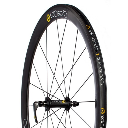 CycleOps PowerTap 45mm G3 Carbon Clincher Wheelset