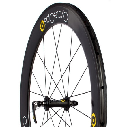 CycleOps PowerTap 65mm G3 Carbon Tubular Wheelset