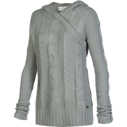 Carve Designs Greenly Hooded Sweater - Women's