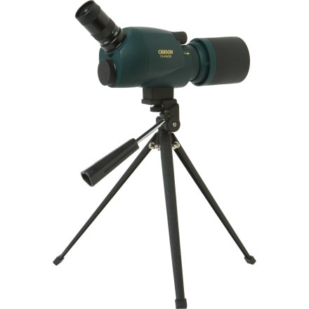 Carson BackCountry 15x-40x50mm Dual Angle Extendable Spotting Scope