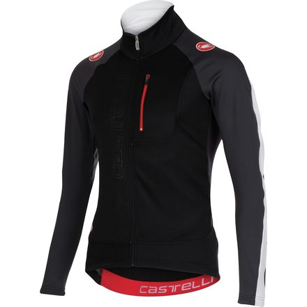 Castelli Trasparente 3 Wind Full-Zip Jersey - Long Sleeve - Men's