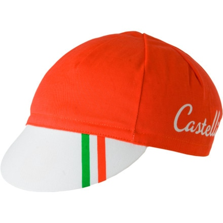 Castelli Podium Collection - Ganna Red Cycling Cap