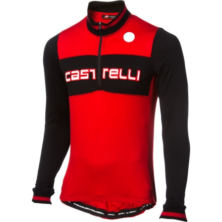 Castelli Fausto Wool Long Sleeve Jersey