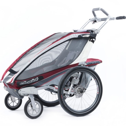 Thule Chariot CX1 Stroller with Strolling Kit